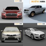 Carros de coleção 3d model