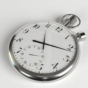 주머니 시계 3d model