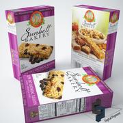 Sunbelt Bakery Granola Owsianka Rasin 3d model
