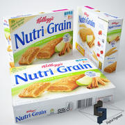 Kellogs Nutri Grain Apfel-Zimt-Riegel 3d model