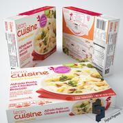 Lean Cuisine Alfredo Pasta 3d model