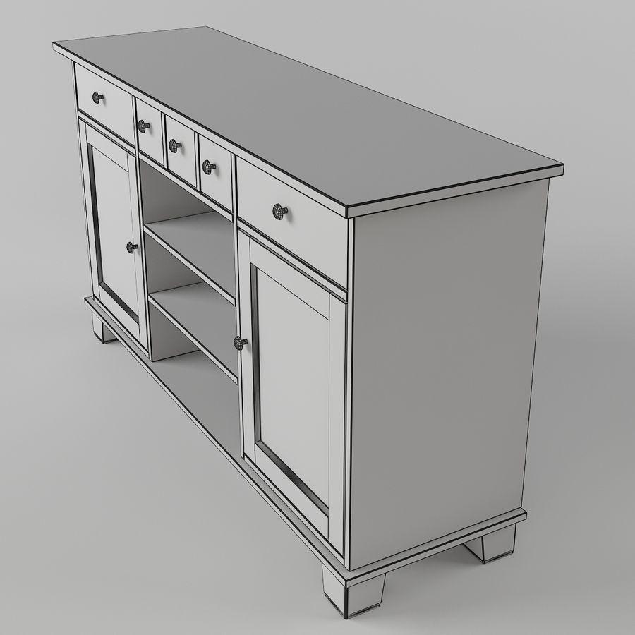 Ikea Buffet 3d Model 8 Obj Fbx 3ds Max Free3d