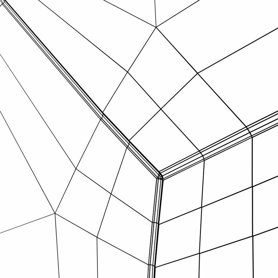 축구 축구 공 royalty-free 3d model - Preview no. 9