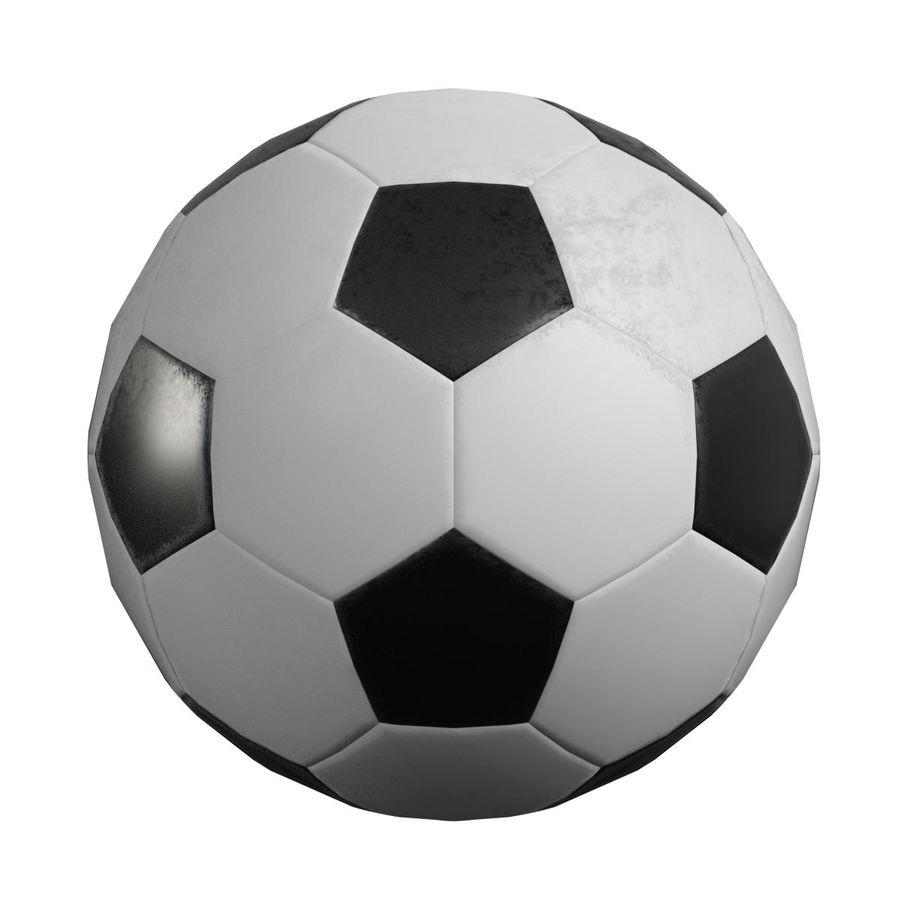 Piłka nożna Piłka nożna royalty-free 3d model - Preview no. 4