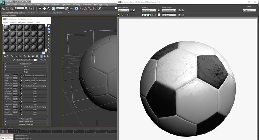 Piłka nożna Piłka nożna royalty-free 3d model - Preview no. 12