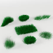 Grass / Weed Pack (7 objects) 3d model