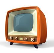 程式化电视 3d model