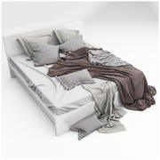Bed collection 03 3d model