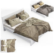 Bed collection 04 3d model