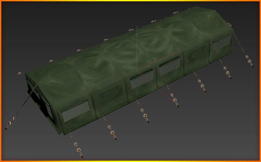 Tente de l'armée royalty-free 3d model - Preview no. 13