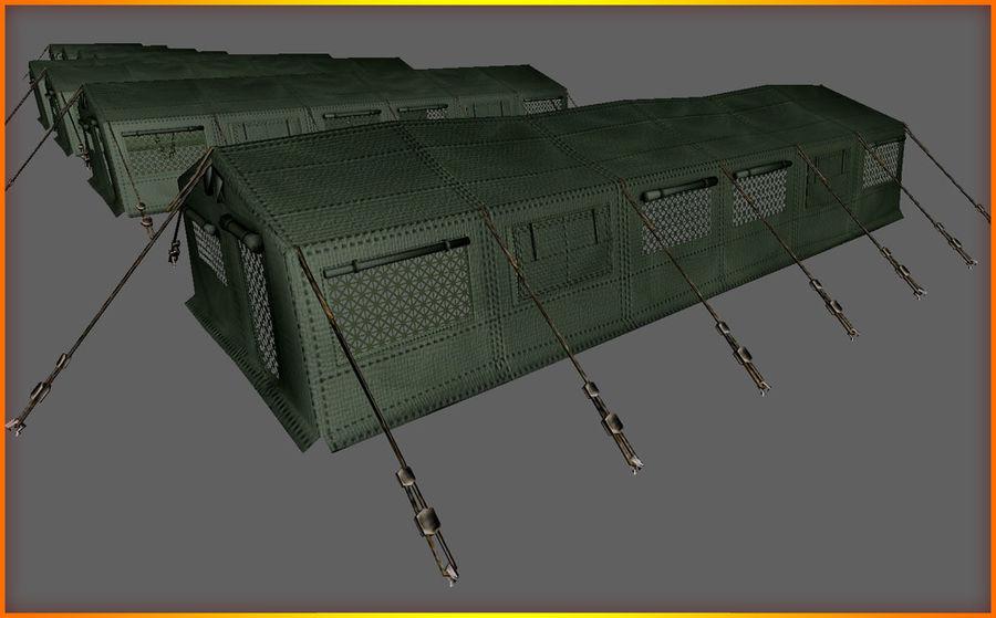 Tente de l'armée royalty-free 3d model - Preview no. 16