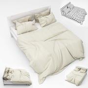 Kolekcja łóżek 09 3d model
