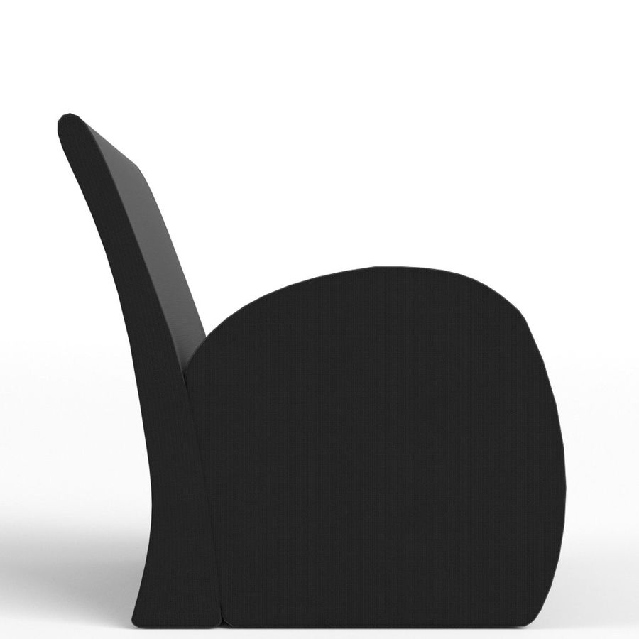 Armchair 1 royalty-free 3d model - Preview no. 4