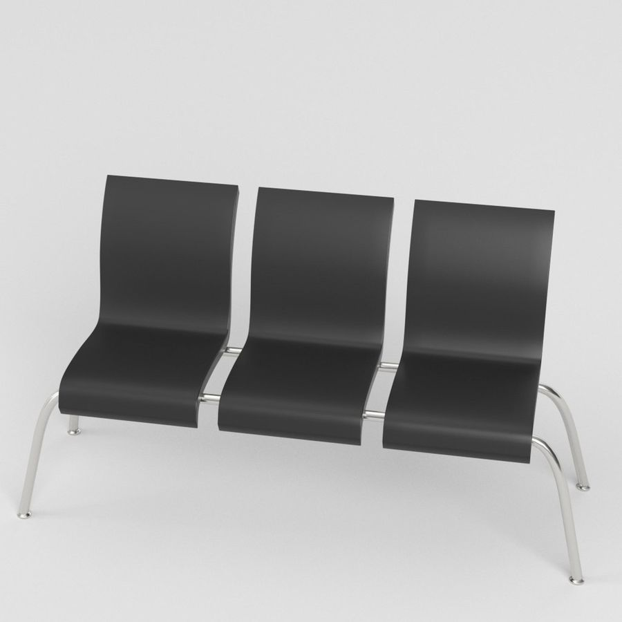 Sillones 1 royalty-free modelo 3d - Preview no. 2