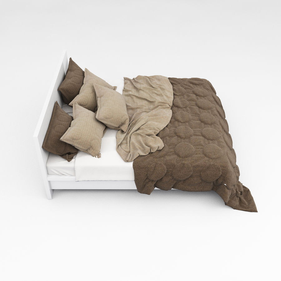 Bed collection 08 royalty-free 3d model - Preview no. 20