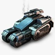 Recon tank 3d model