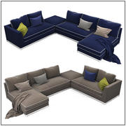 Sofa collection 08 3d model