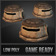 Bunker 3d model