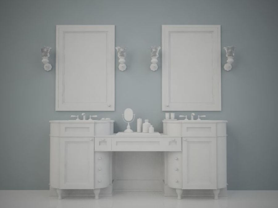 BWC Sink royalty-free 3d model - Preview no. 1
