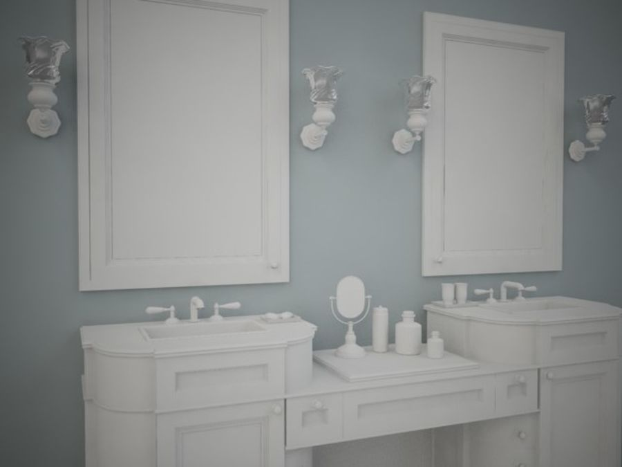 BWC Sink royalty-free 3d model - Preview no. 2