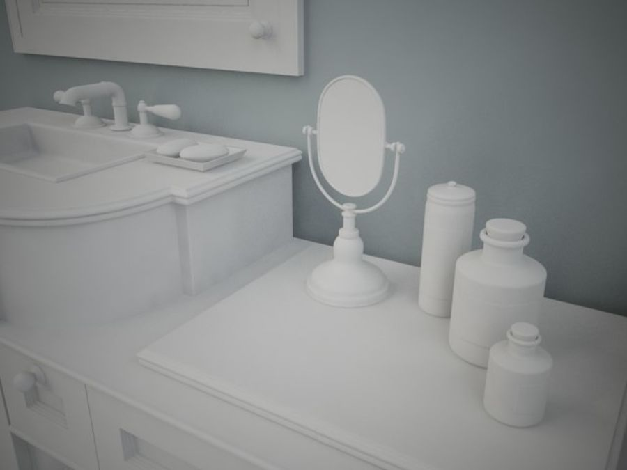 BWC Sink royalty-free 3d model - Preview no. 3