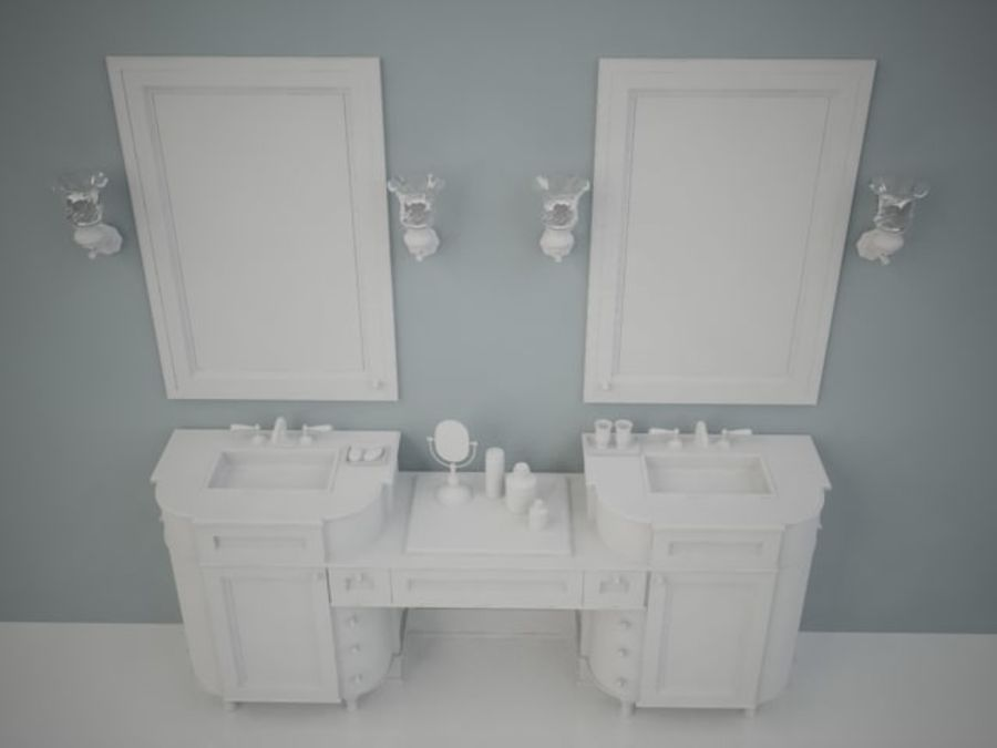 BWC Sink royalty-free 3d model - Preview no. 5