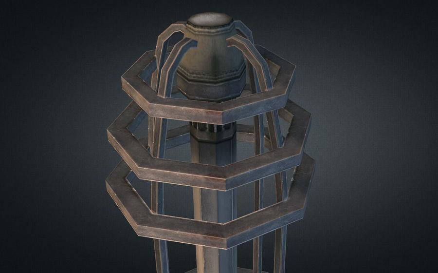 Torre de bobina TD Tesla royalty-free modelo 3d - Preview no. 5