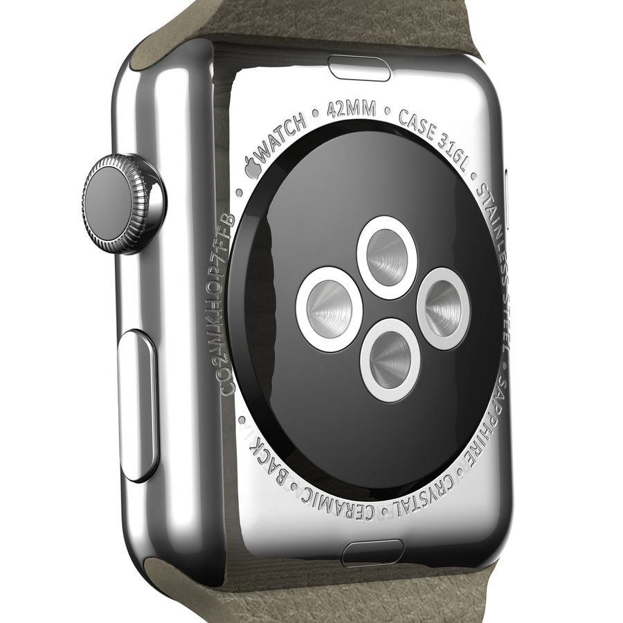 Apple Watch royalty-free 3d model - Preview no. 12