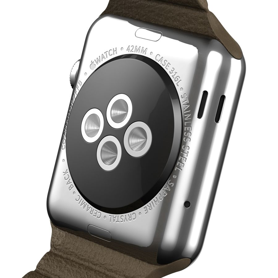 Apple Watch royalty-free 3d model - Preview no. 14