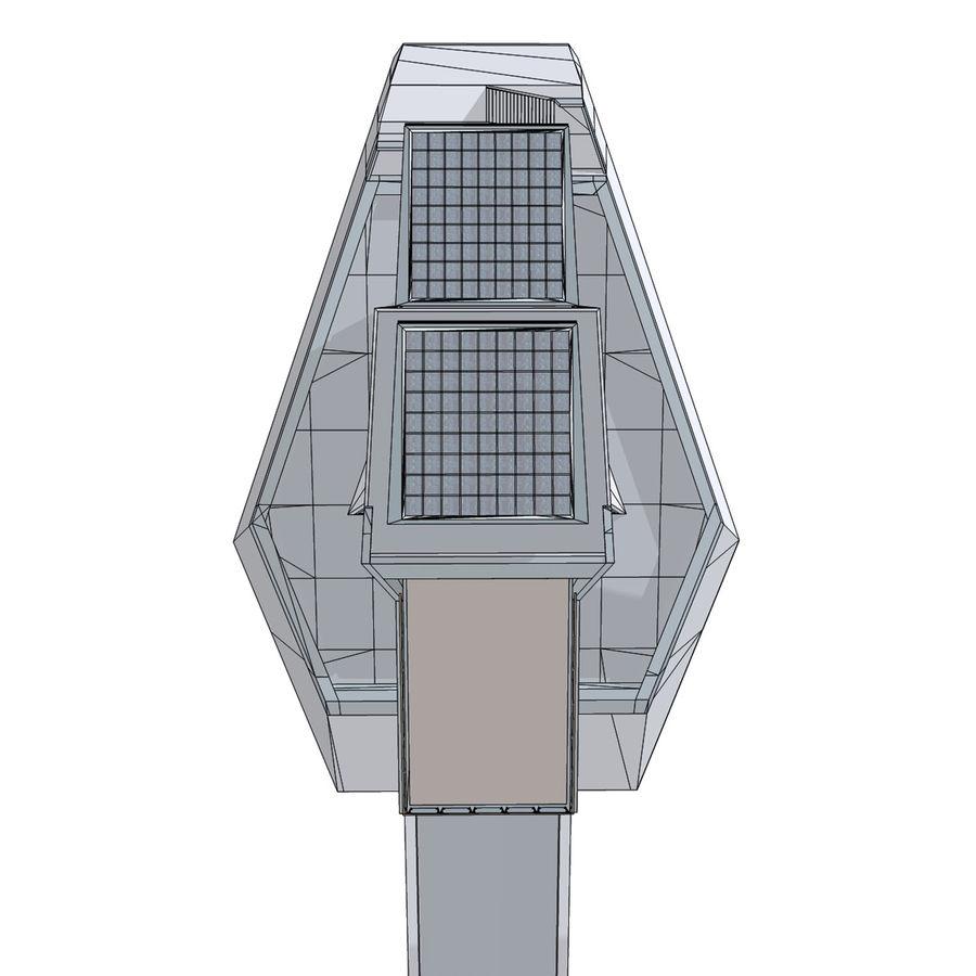 Futuristic architecture royalty-free 3d model - Preview no. 5