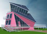 Solar_Building 3d model