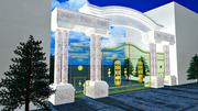 Big Gate 3d model