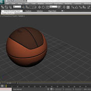 Piłka do koszykówki euro 3d model