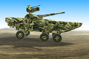 fighting vehicle 3d model