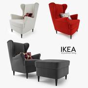 IKEA Strandmon Wing Wing 3d model