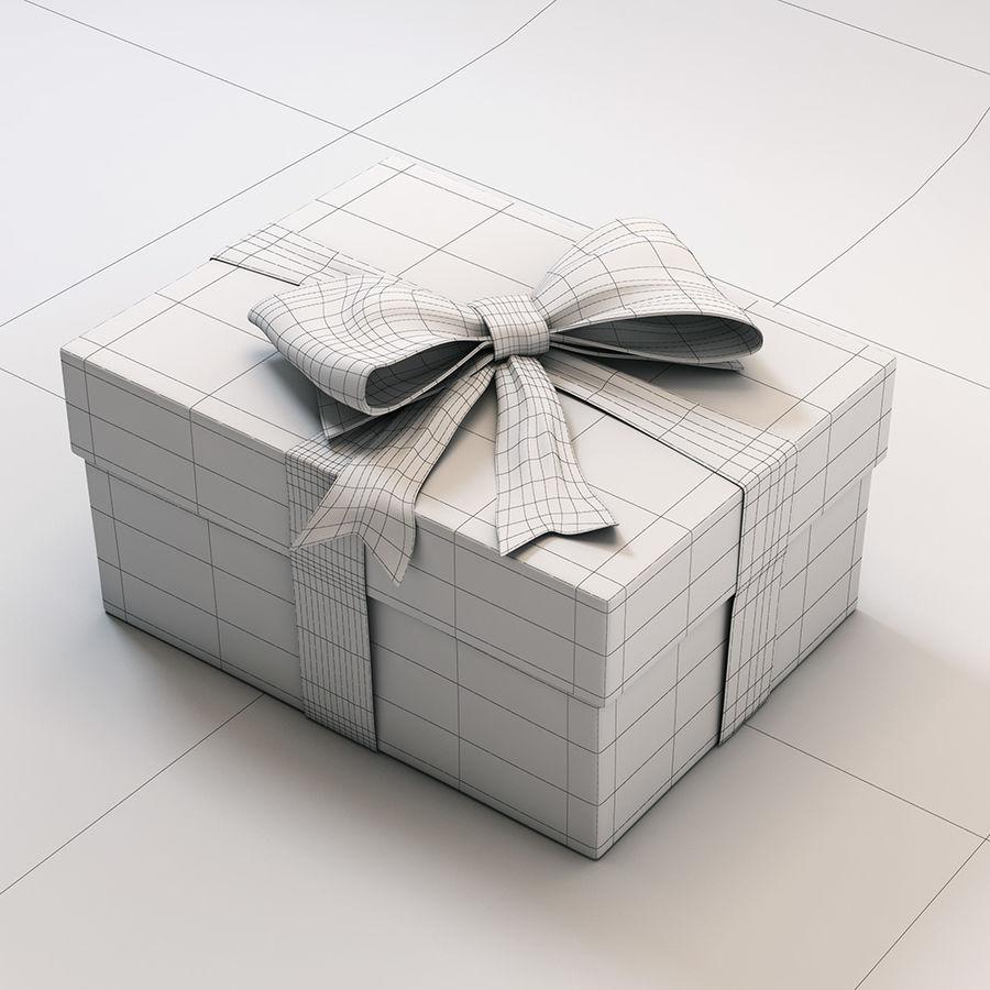 Geschenkbox royalty-free 3d model - Preview no. 6