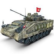 Tank UN Warrior modelo 3d