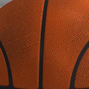 Piłka do koszykówki pomarańczowa 3d model