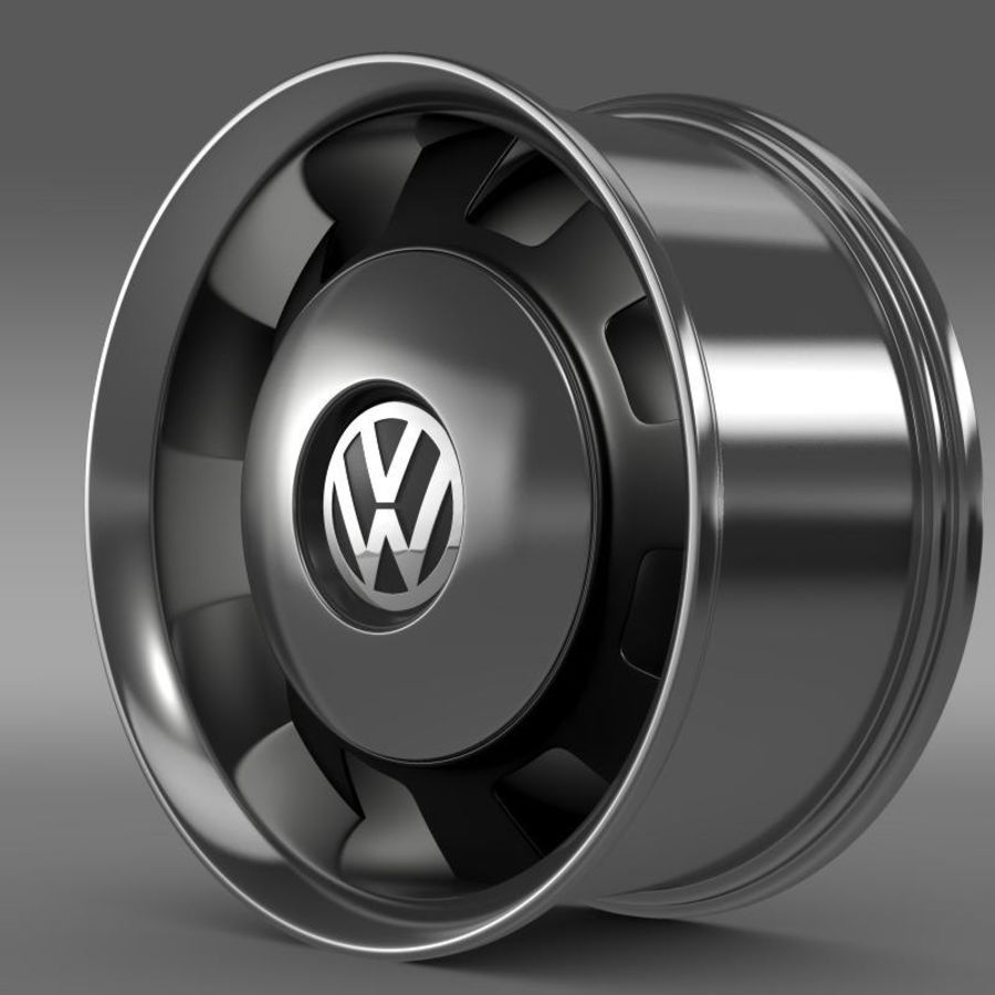 Обод VW Beetle Classic royalty-free 3d model - Preview no. 1