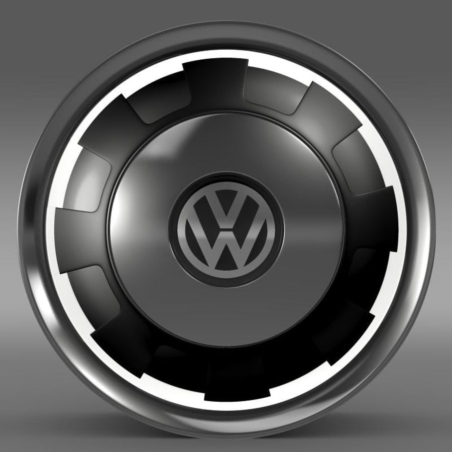 Обод VW Beetle Classic royalty-free 3d model - Preview no. 2