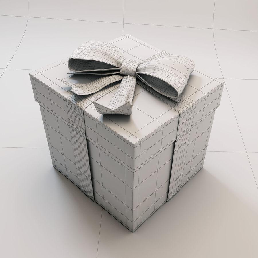 Geschenkbox 2 royalty-free 3d model - Preview no. 6