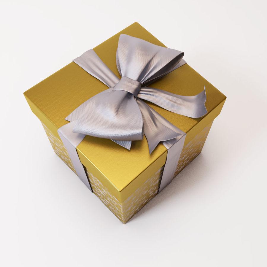 Geschenkbox 2 royalty-free 3d model - Preview no. 4