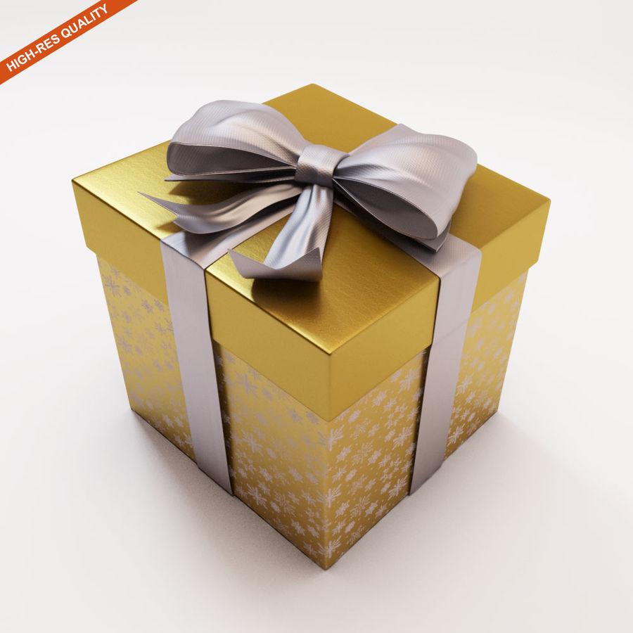 Geschenkbox 2 royalty-free 3d model - Preview no. 1
