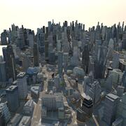 巨大な都市02 3d model