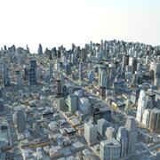 Большой город 25 3d model