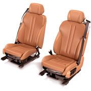 Front Seats 3d model