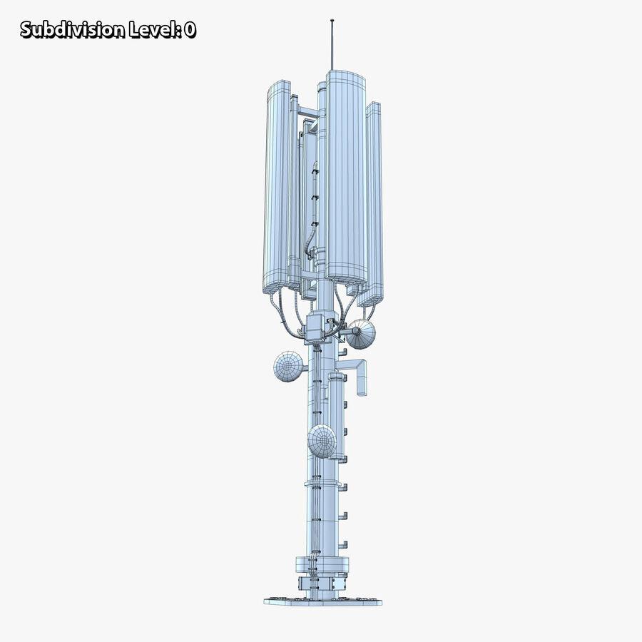Antena de comunicação royalty-free 3d model - Preview no. 12