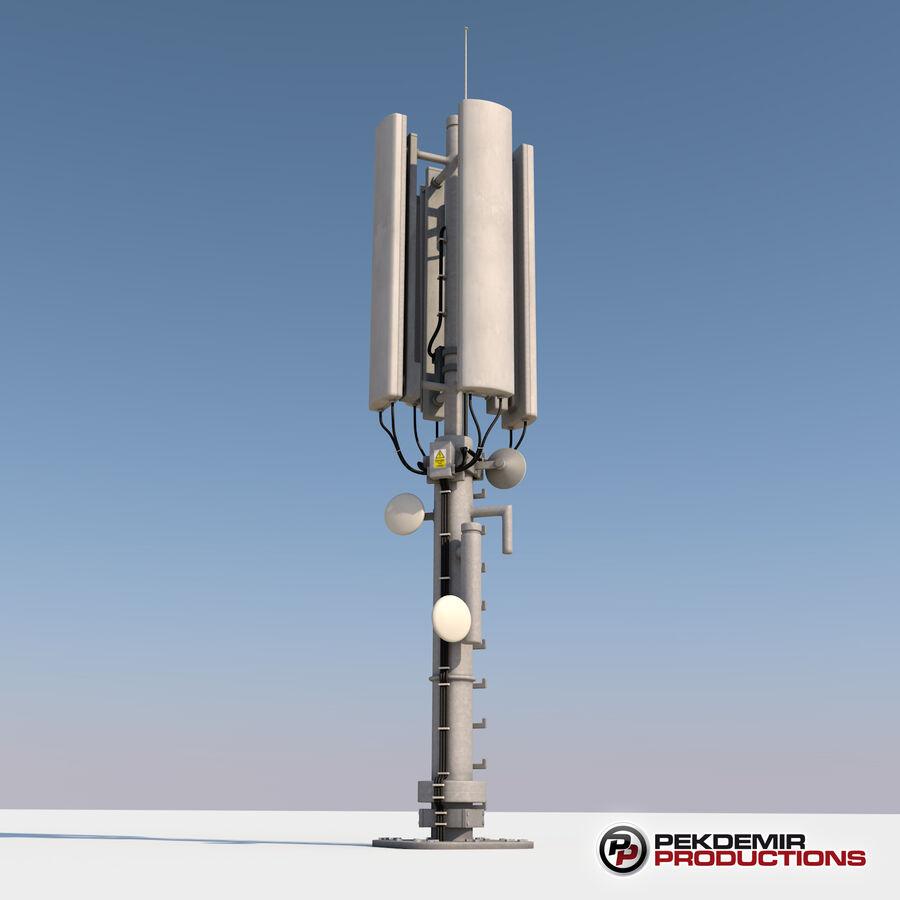 Antena de comunicação royalty-free 3d model - Preview no. 3