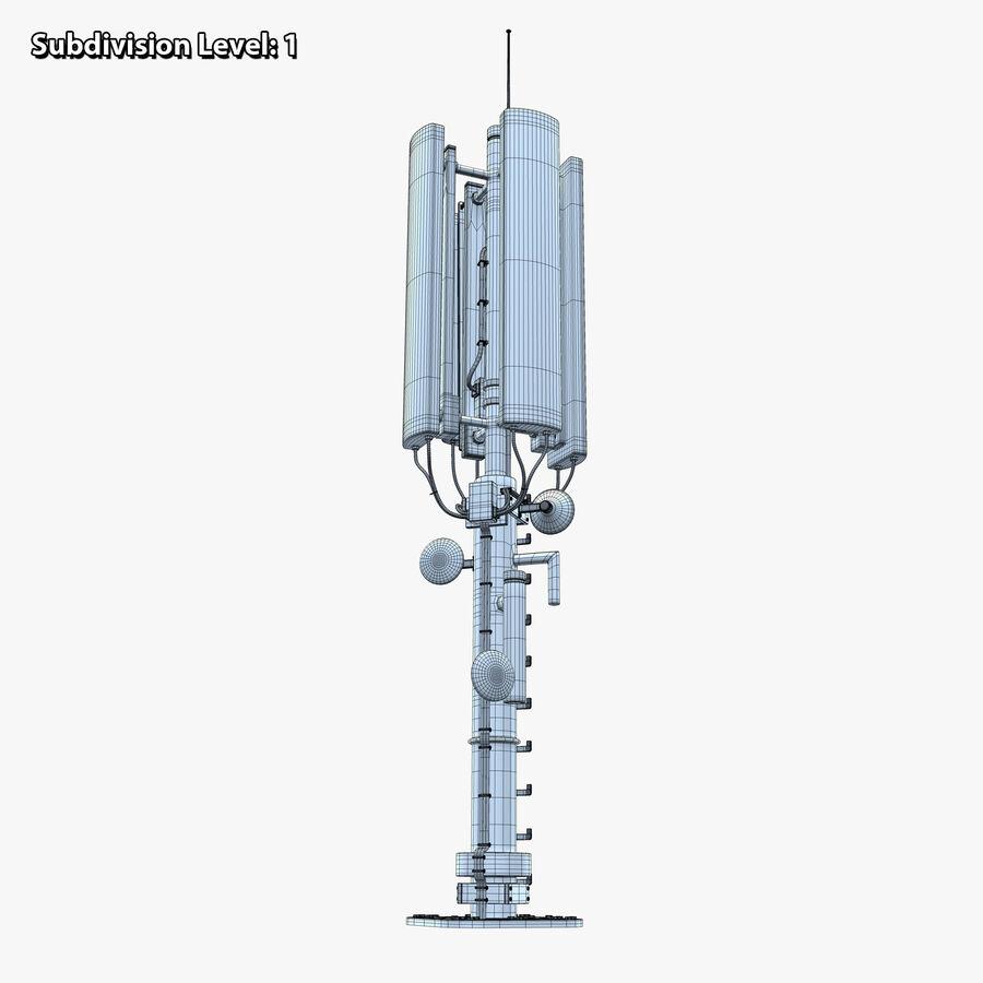 Antena de comunicação royalty-free 3d model - Preview no. 13