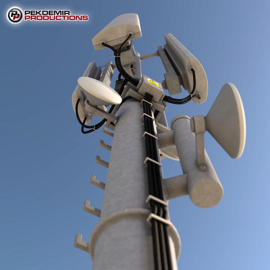 Antena de comunicação royalty-free 3d model - Preview no. 6